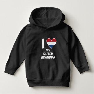 I Heart My Dutch Grandpa Hoodie