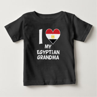 I Heart My Egyptian Grandma Baby T-Shirt