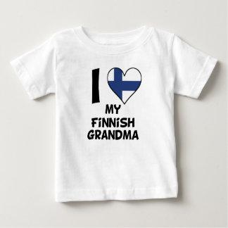 I Heart My Finnish Grandma Baby T-Shirt