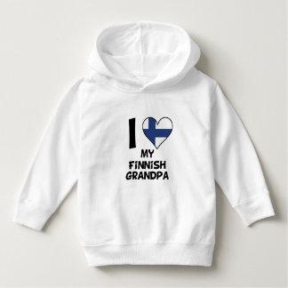 I Heart My Finnish Grandpa Hoodie