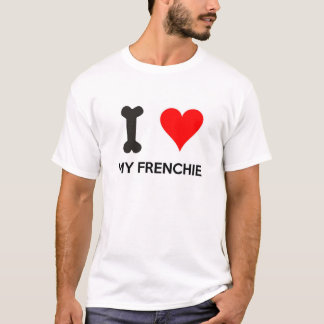 I Heart My Frenchie T-Shirt