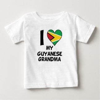 I Heart My Guyanese Grandma Baby T-Shirt