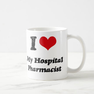 I heart My Hospital Pharmacist Coffee Mug
