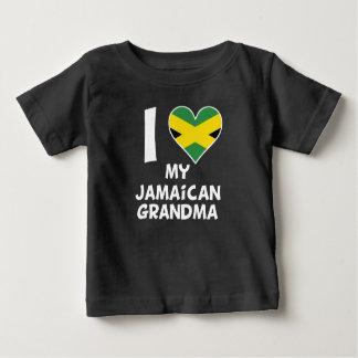 I Heart My Jamaican Grandma Baby T-Shirt