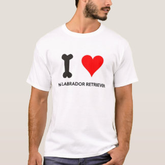 I Heart My Labrador Retriever T-Shirt