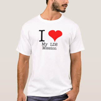 I Heart My LDS Mission T-Shirt