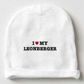 I Heart My Leonberger Baby Beanie