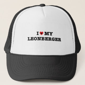I Heart My Leonberger Trucker Hat