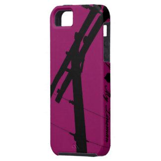 I (Heart) My Lineman iPhone 5 Cover-Lipstick Case For The iPhone 5