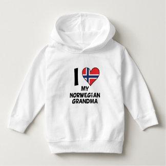 I Heart My Norwegian Grandma Hoodie