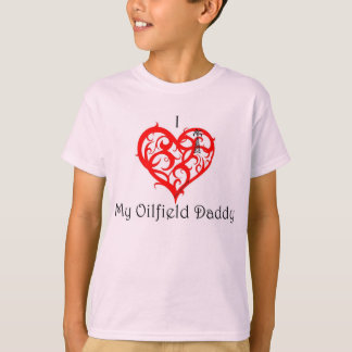 "I ""heart"" My olfield Daddy T-Shirt"