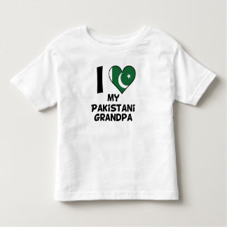 I Heart My Pakistani Grandpa Toddler T-Shirt