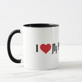 I Heart My Pheasant Hunter Mug
