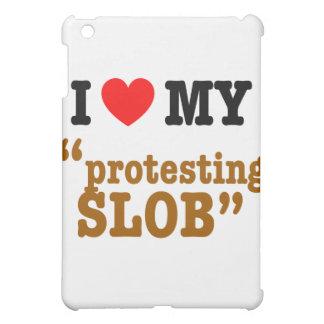 "I Heart My ""Protesting Slob"" iPad Mini Covers"