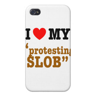 """I Heart My """"Protesting Slob"""" iPhone 4/4S Case"""