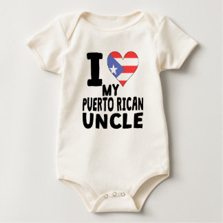 I Heart My Puerto Rican Uncle Romper