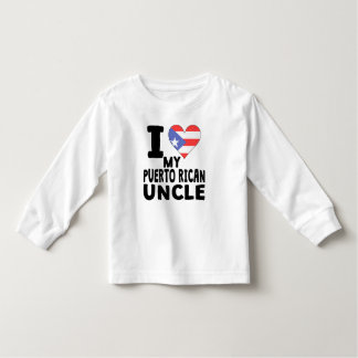 I Heart My Puerto Rican Uncle Shirt