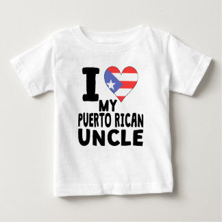 I Heart My Puerto Rican Uncle T Shirts