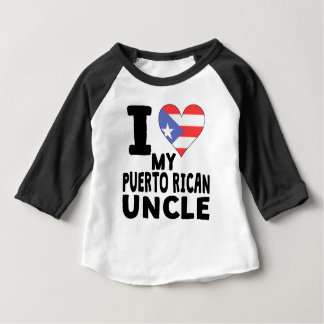 I Heart My Puerto Rican Uncle Tees