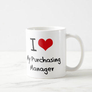 I heart My Purchasing Manager Coffee Mugs