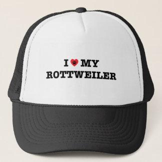 I Heart My Rottweiler Trucker Hat