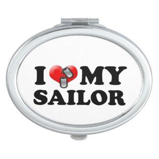 I (Heart) My Sailor Vanity Mirrors