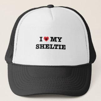 I Heart My Sheltie Trucker Hat