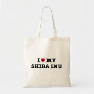 I Heart My Shiba Inu Tote Bag