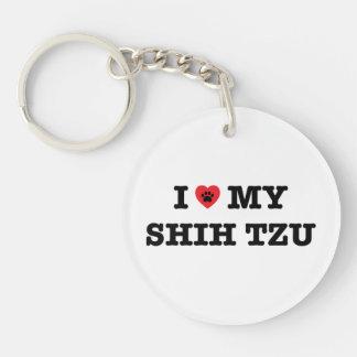 I Heart My Shih Tzu Key Ring