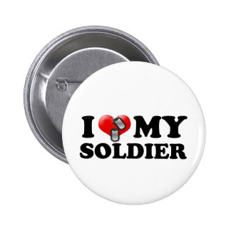 I heart my Soldier Pin