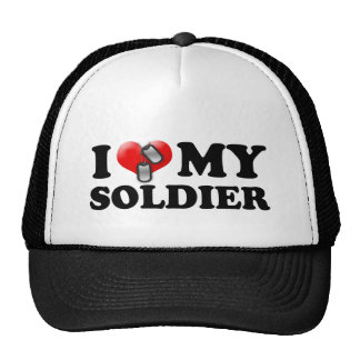 I heart my Soldier Mesh Hats