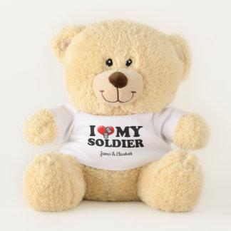 I (Heart) My Soldier Teddy Bear
