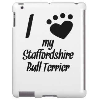 I Heart My Staffordshire Bull Terrier