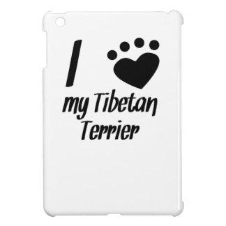I Heart My Tibetan Terrier Case For The iPad Mini