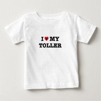 I Heart My Toller Baby T-Shirt
