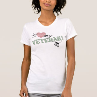 I Heart My Veteran! T-shirts