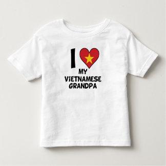 I Heart My Vietnamese Grandpa Toddler T-Shirt