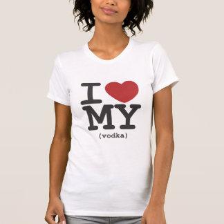 I Heart My Vodka T-Shirt