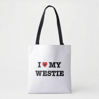 I Heart My Westie Tote Bag