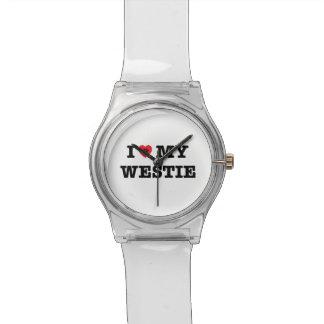 I Heart My Westie Watch