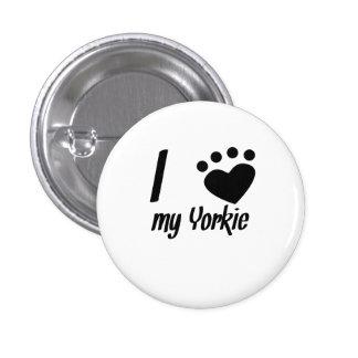 I Heart My Yorkie Pins