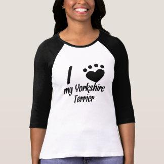 I Heart My Yorkshire Terrier Tshirts