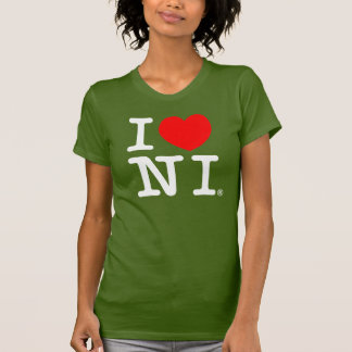 I 'heart' N.I. T-Shirt