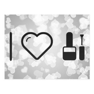 I Heart Natural Cosmetics Postcard