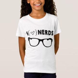 I {heart} Nerd babydoll shirt