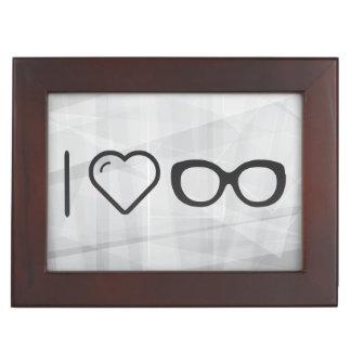 I Heart New Glasses Memory Boxes