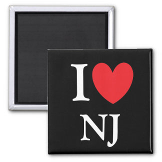 I Heart New Jersey Magnet