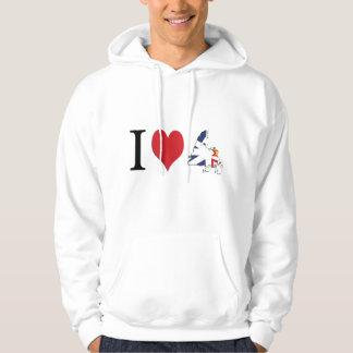 I heart Newfoundland Hoodie