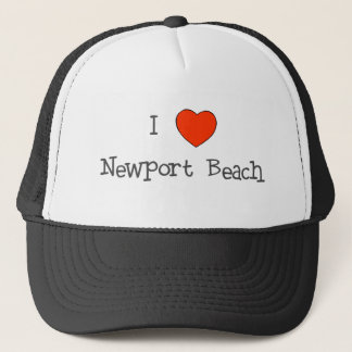 I Heart Newport Beach Trucker Hat