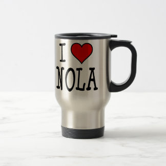 I Heart NOLA Travel Mug